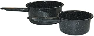 Granite Ware Saucepan Set, 1-Quart and 2-Quart