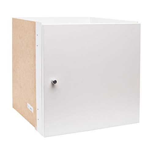 Ikea Kallax Uso con puerta en blanco; (33x 33cm); compatible con Expedit