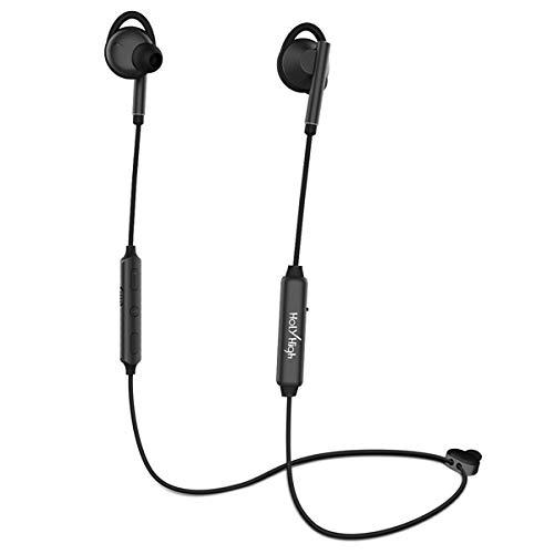 HolyHigh Bluetooth Kopfhörer in Ear ANC Sport Bluetooth 4.2 HiFi Noise Cancelling Kopfhoerer IPX5 Wasserdicht 4-8 Stunden Spielzeit Kopfhörer Kabellos mit Mikrofon für iPhone iPad Samsung Huawei