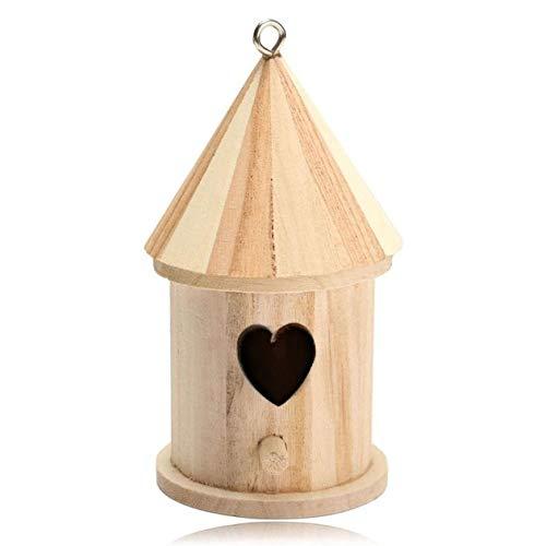 Winkey Bird House,Nichoir à oiseaux en bois ,16x7.8cm / 6.30x3.07 (B)