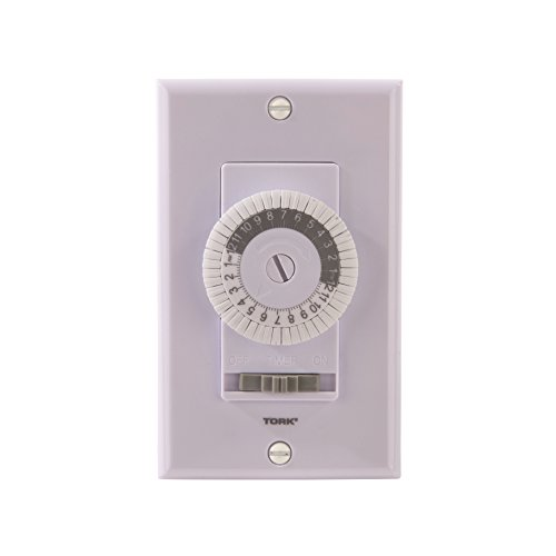 NSi 701B 24 Hour Mechanical In-Wall Time Switch, 20 Amps, White