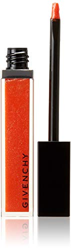 Givenchy Gloss Interdit Ultra Shiny Color Plumping Effect, 30 Candide Tangerine, 0.21 Ounce