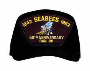 MilitaryBest Seabee's 50th Anniversary - 1942 to 1992 Cap from MilitaryBest