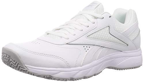 Reebok Work N Cushion 4.0, Gymnastics Shoe Hombre, White/Cold Grey 2/White, 44 EU