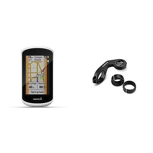 "Garmin Edge Explore GPS-Fahrrad-Navi - Europakarte, Navigationsfunktionen, 3"" Touchscreen, einfache Bedienung & Accy, Extended Quarter-Turn Mount, Short, Edge"