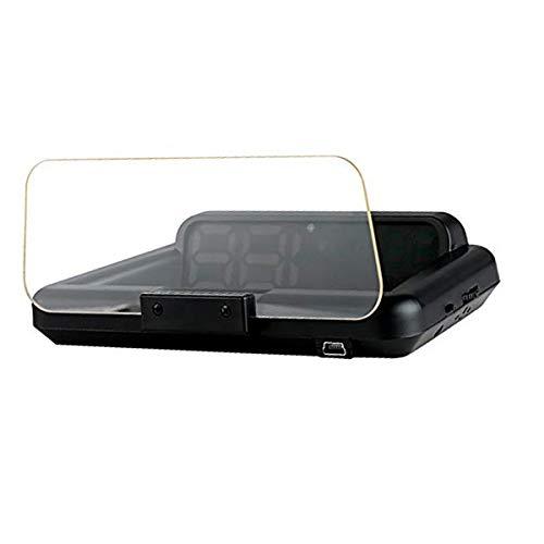 DONGMAO T900 Car Hud GPS Velocímetro Head Up Display con Tablero de reflexión Proyector de Velocidad de Coche Alarma de Velocidad para Todos los vehículos