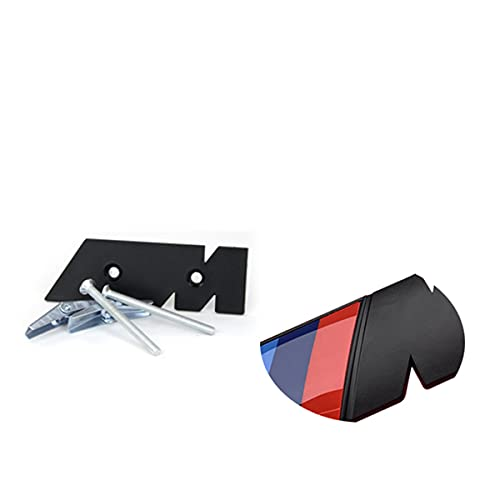 Kühlergrill Emblem Golo,3D M Emblem Aufkleber Auto Kühlergrill Stoßstange Aufkleber Abzeichen Zubehör Für BMW M1 M2 M3 M4 M5 M6 E46 E90 E60 F10 E39 F30 E36 F20,Grille Stickers for M5