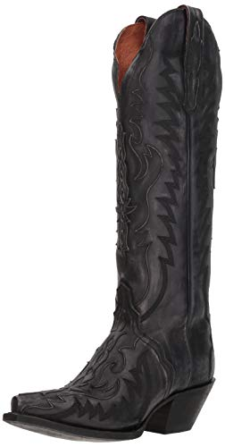 Dan Post Hallie Black Distressed 8 B (M)