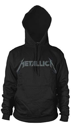 Metallica Kirk Hammett Guitar Black Album Oficial Sudaderas Capucha Hombre (XX-Large)