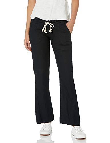 Roxy Women's Oceanside Pant, True Black Medium