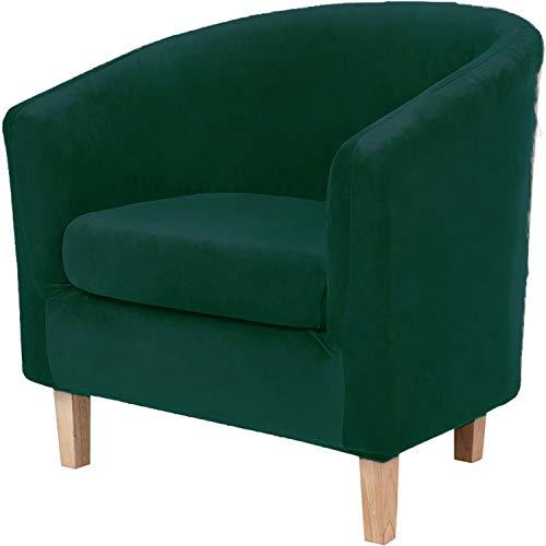 GYHH Sesselschoner Sesselüberwurf Sesselhusse Sesselbezug Elastisch Stretch Sesselbezug Für Clubsessel Loungesessel Schonbezug Für Stretch (Teal)