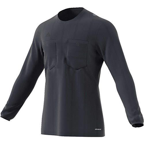 adidas UCL Ref JSY LS Camiseta de Manga Larga Arbitraje UEFA Champions League, Hombre, Multicolor (Maosno), S