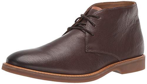 Clarks Men's Atticus Limit Chukka Boot, Dark Brown Leather, 9 M US
