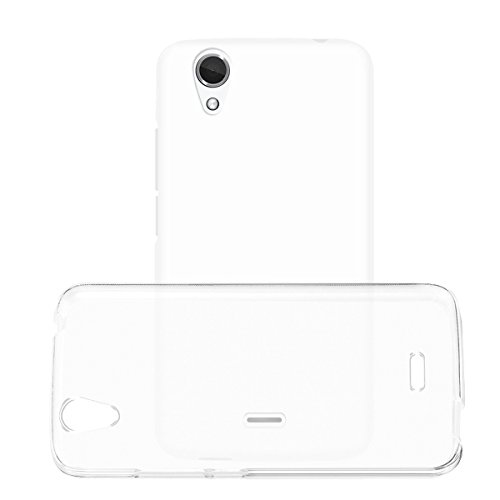 NEW'C Kompatibel mit Wiko Birdy Hülle, Ultra transparent Silikon Gel TPU Soft Cover Hülle SchutzKratzfeste mit Schock Absorption & Anti Scratch