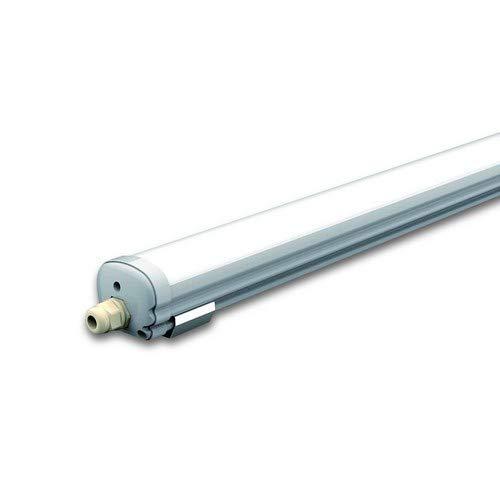 V-TAC VT-1239 LED Lampe, Kunststoff (ABS) + Polycarbonat, T5, 48 W, weiß, Hauteur x Largeur x Profondeur : 1500 mm x 86 mm x 72 mm