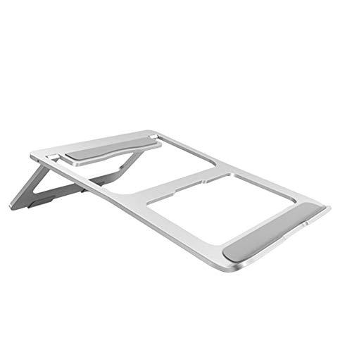 1 Pcs Aluminum Alloy Portable Foldable Laptop Stand Computer Cooling Base Laptop Desktop Stand Laptop Stand