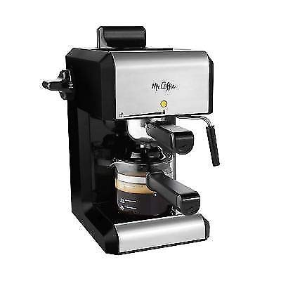 Mr. Coffee Café 20-Ounce Steam Automatic Espresso and Cappuccino Machine