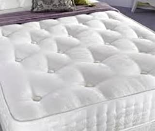 CROWNBEDSUK Chesterfield Wall HEADBOARD Chenille in 2ft6,3ft,4ft,4ft6,5ft,6ft 36'' OR 44 '' Height Matching Buttons (6FT S...