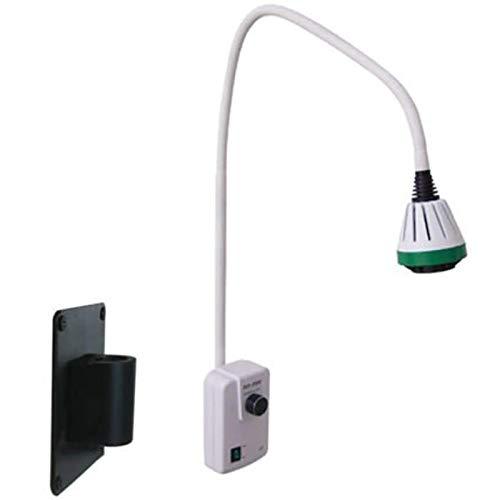 ZLRE Lámpara de Examen LED de 9 W, lámpara de Examen médico quirúrgica Oral montada en la Pared, luz de cirugía de ginecología ENT, lámpara sin Sombras