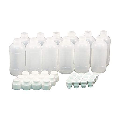 Handy Art Empty 2 ounce Marker Bottle, Dauber Tip and Cap, 12-Each (900-003) , White