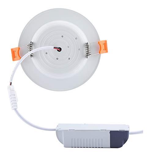 Panel De Luz LED Para Techo, Conveniente Y Práctico Lámpara De Techo De Bajo Consumo De Energía Lámpara De Techo Con Sensor De Movimiento Del Cuerpo Humano Para Paso Público Para Pasillo