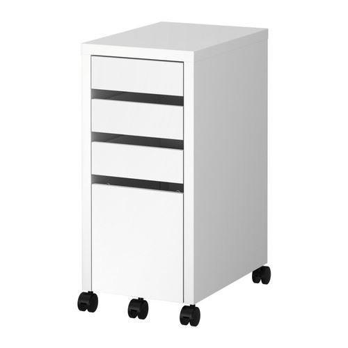MICKE Schubladeneinheit mit Aufbewahrungsbox, Weiß