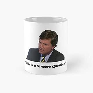 gocontigo - Tucker Carlson #16 Mug 11 Oz White Ceramic