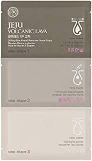 The Faceshop Jeju Volcanic Lava 3 Step Deep Cleansing Nose Strips