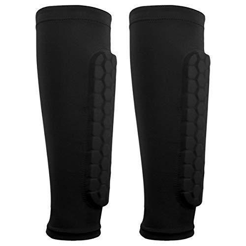Natuce Soccer Shin Guard Socken, Kompressionswade Ärmel,Fußball Ausrüstung, resistentem Komfort Atmungsaktiv für Erwachsene Teenager und Kinder- Fußball-Wettbewerb für Anfänger oder Leistungssportler