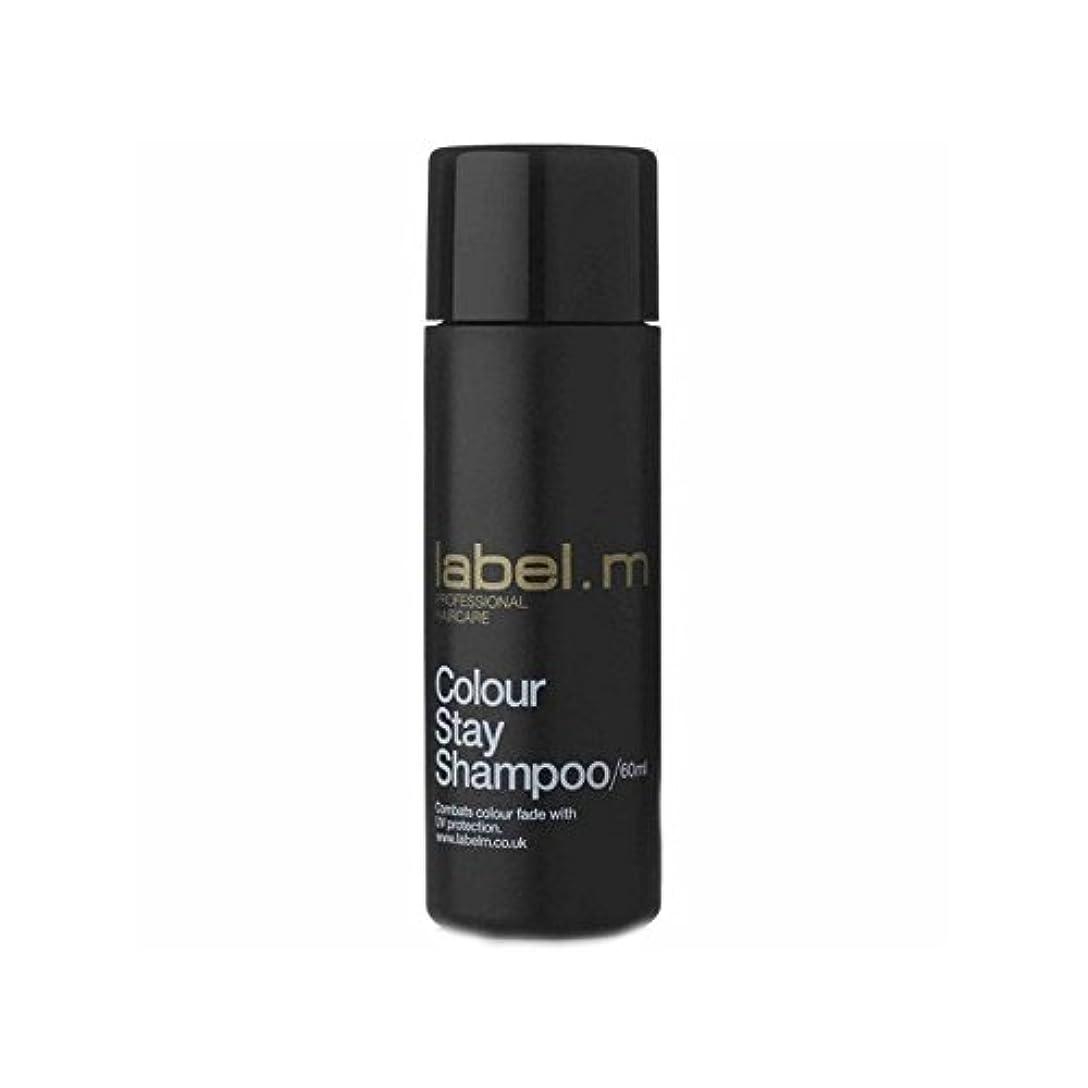 キャラクター生産性贈り物Label.M Colour Stay Shampoo Travel Size (60ml) (Pack of 6) - .カラーステイシャンプーの旅行サイズ(60ミリリットル) x6 [並行輸入品]