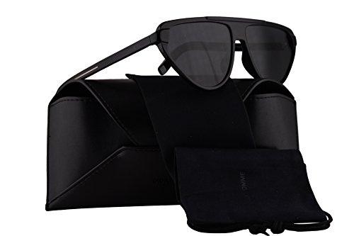 Dior Christian tie247S gafas de sol w/grises de la lente de 60mm 8072K tie 247S Tie247S Tie 247S hombre Negro Grande