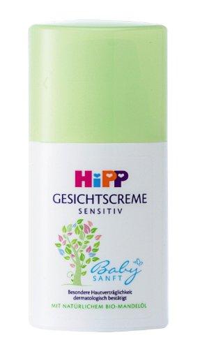 Hipp Babysanft Gesichtscreme, 4er Pack (4 x 50ml)