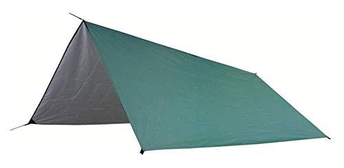DZHTSWD Tienda Tienda Cuadrado Canopy Hamaca al Aire Libre Camping Tienda Impermeable Canopy Sun PERGOLA Camping Tienda de Camping (Color: Verde, Tamaño: 3-4 Personas)