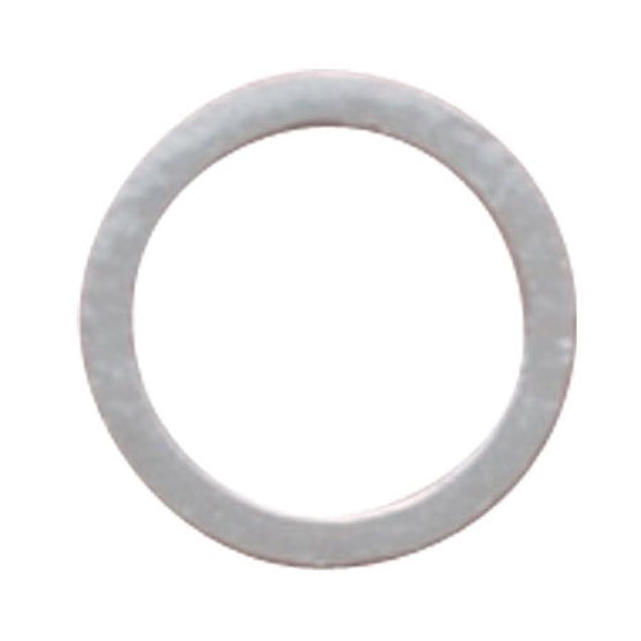 増強する連想暫定リトルプリティー ネイルアートパーツ フラットリング シルバー 20個 LP-0096R