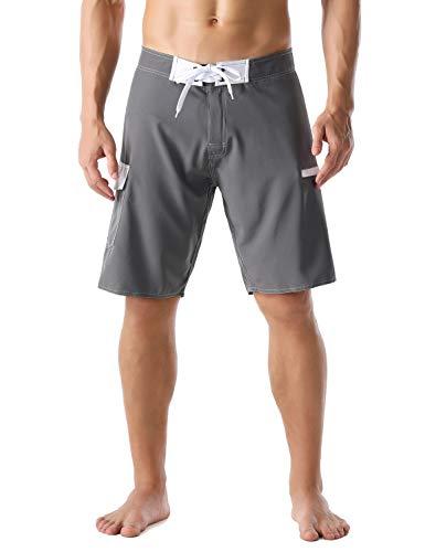 Nonwe Herren Sportwear Quick Dry Boardshorts mit Futter - - 46