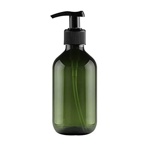 Toruiwa Lotionspender Leere Pumpflasche Pumpspender aus PET Lotion Flasche für Shampoo Duschgel Handlotion Körpercreme Flüssigseife 300ml (Grün)