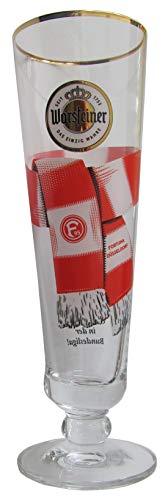 Warsteiner Brauerei - Fan Glas 0,3 l. - Fortuna Düsseldorf
