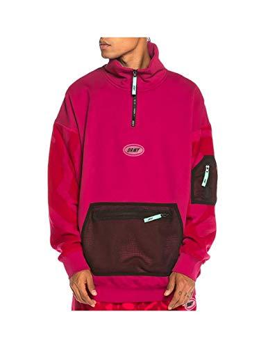 GRIMEY Sudadera Mysterious Vibes High Neck Sweatshirt FW19 Purple-XXS