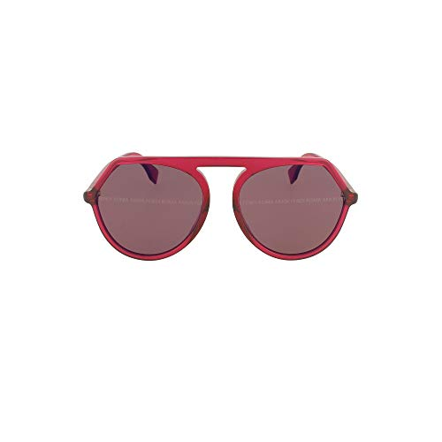 FENDI Luxury Fashion Donna FF0375GS8CQXL Rosso Occhiali Da Sole | Primavera Estate 20