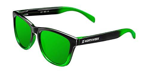 NORTHWEEK Gradiant Gafas de sol, Verde, 52 Unisex