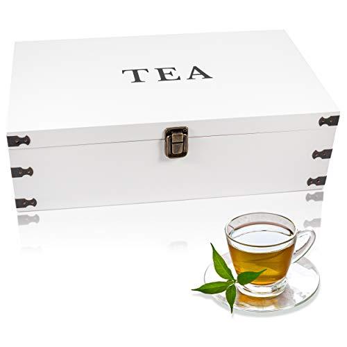 Natural White Pine Tea Storage Chest