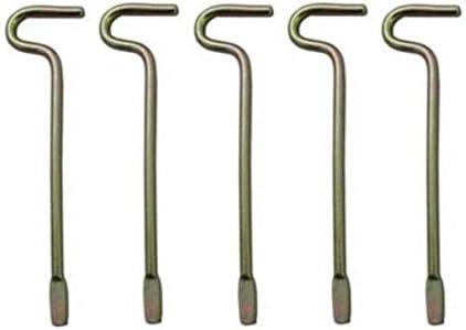 Kwikset Interior Door Emergency Key Pack Of 5 Door Lock Replacement Parts Amazon Com
