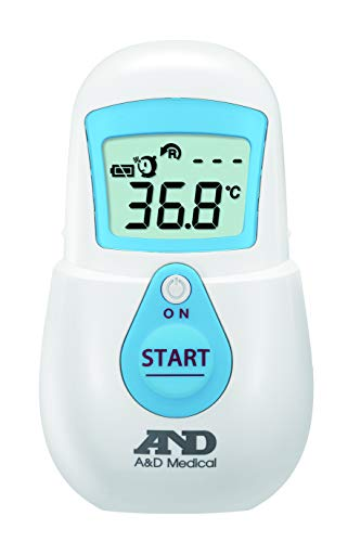 A&D エー・アンド・デイ 非接触体温計 ブルー UTR-701A-JC