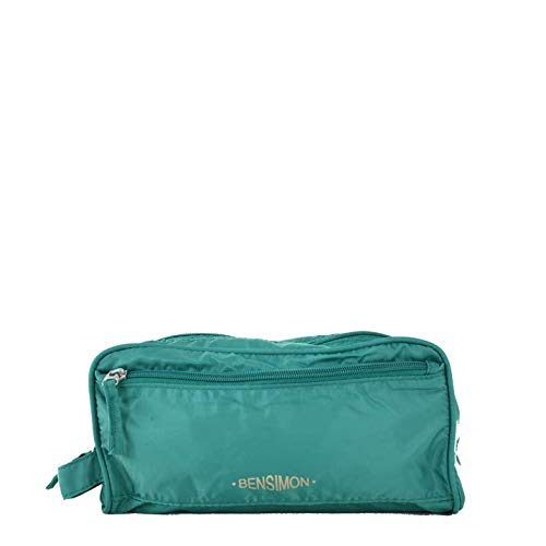 Bensimon - Borsa da donna Toiletry, Verde (Verde (Jade)), 13x12x27 cm (W x H x L)