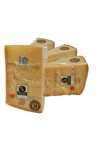 Confezione Risparmio 4 Pezzi Parmigiano Reggiano D.o.p. NO OGM stagionato 24/26 mesi 1 KG. cad