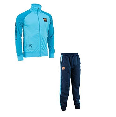 Trainingsanzug Barça, offizielles Produkt von FC Barcelona, Erwachsenengröße, für Herren XX-Large blau