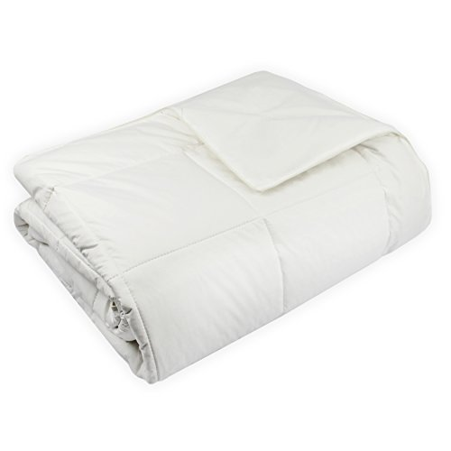 Century Home Natural Home Woolmark Certified Pure Wool Filled Comforter,...