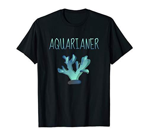 Herren Aquarist Aquarianer Aquaristik Aquarium T-Shirt