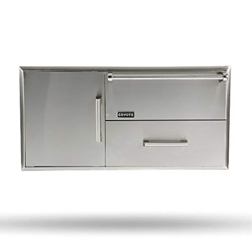 Coyote CCD-WD Combo Drawers Warming Drawer and Access Doors