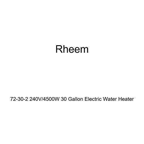 Rheem 72-30-2 240V / 4500W 30 Gallon Electric Water Heater